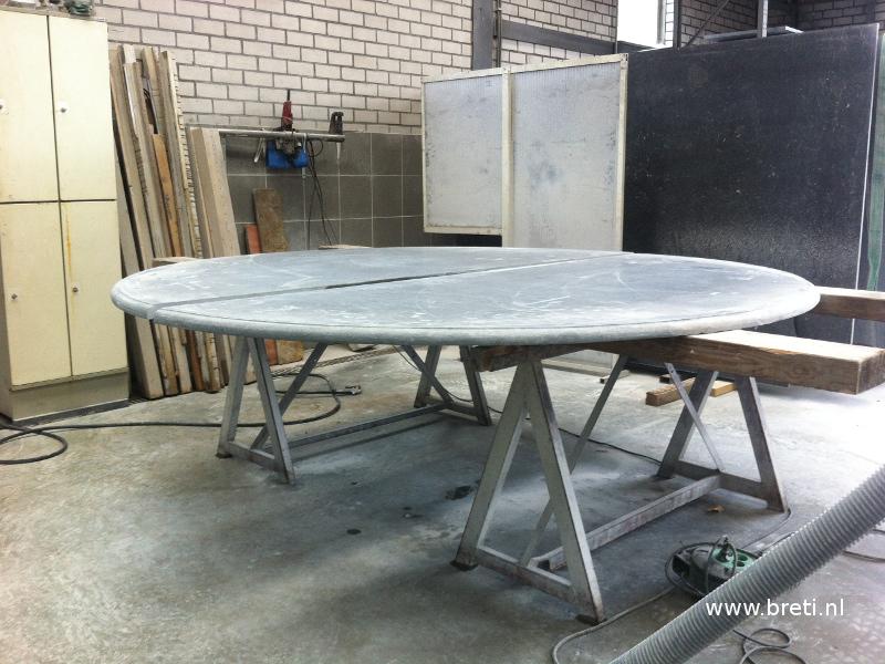 Tafelblad in arduin for Tuinbladen nl