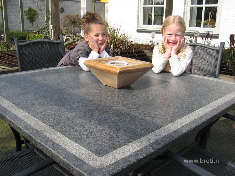 Impala tafelblad for Tuinbladen nl
